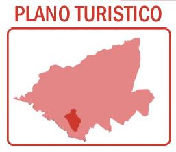 Plano turístico de Romangordo