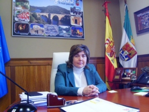 Dª. Rosario Cordero Martín, Alcaldesa de Romangordo