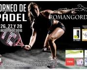 TORNEO DE PADEL ROMANGORDO 2016