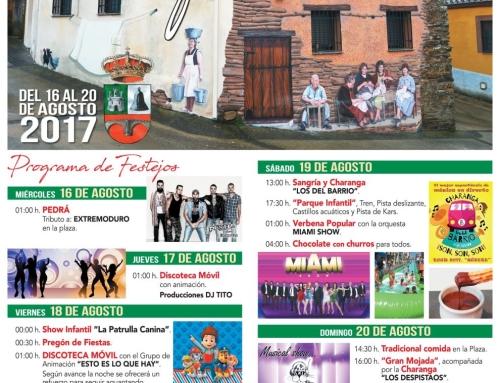 Cartel y Programa Fiestas 2017