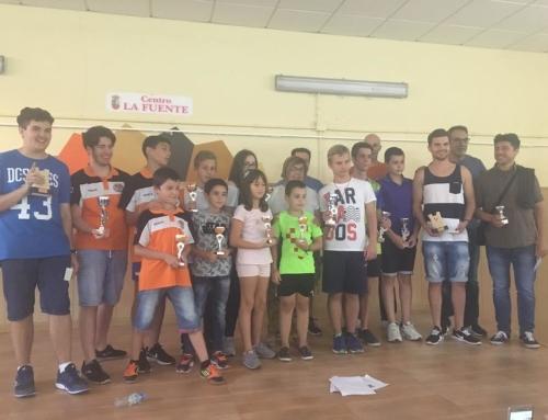 Clasificaciones e imágenes I Torneo de Ajedrez y Conferencia usos terapéuticos de este deporte