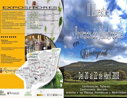 II Muestra Aromas de Monfragüe. 20,21 y 22 de Abril